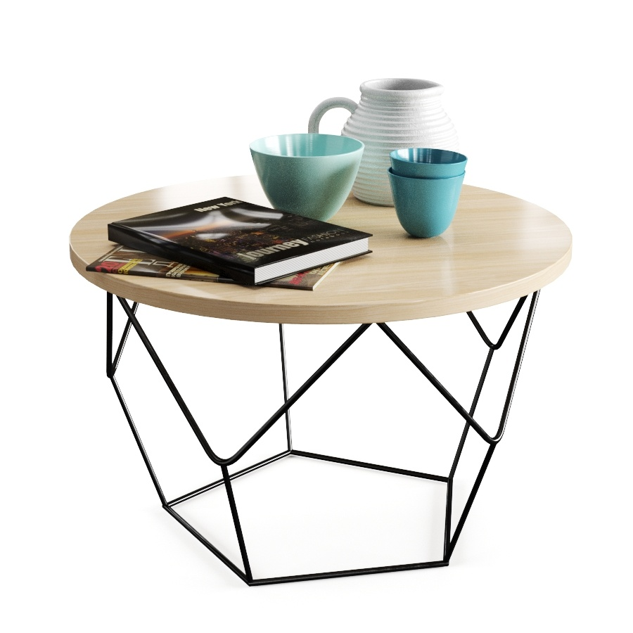 Origami Coffee Table - 3D Model for Corona