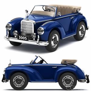 Toy Car Mercedes-benz 300s