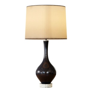 Rejuvenation Colored Glass Table Lamp - Tall