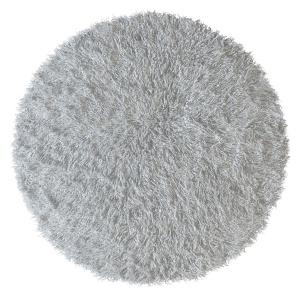 Tibetan Sheepskin Snow-white Round