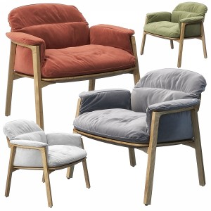 Nomad Easy Chair By Tribu