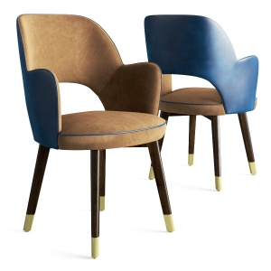Baxter Colette Chair With Armrest