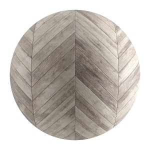 Old Wood Seamless Chevron Parquet Material V1