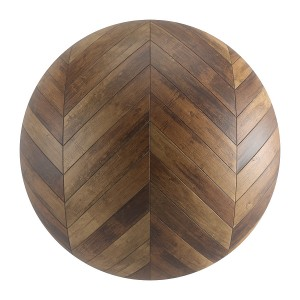 Seamless Old Wood Chevron Parquet Material V2