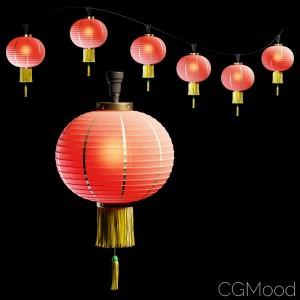 Chinese Lantern. Spline Path Simple Modification