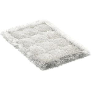 Small Soft Carpet Of Fur Alpaca