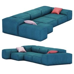 Sofa Extrasoft Living Divani