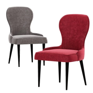 Deephouse Chair Chamonix Marsala Velvet