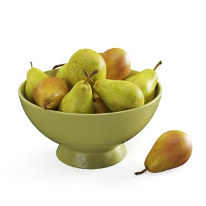 Pears In The Vase 01