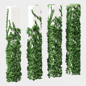 Grape Leaves For Square Columns. 4 Models