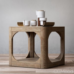 Martens square side table 20sq