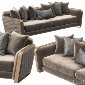 Voyage Sofa By Cantori