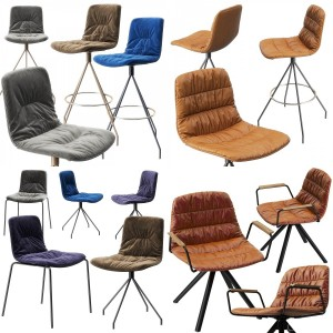 Viccarbe Maarten, Klip chairs