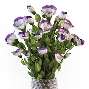 Eustoma flowers in vase