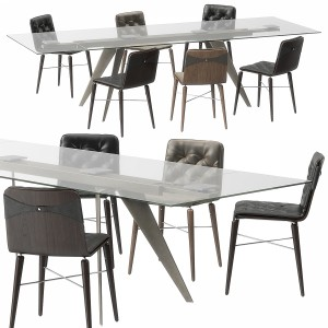 Kate Chair Ramos Table By Bontempi