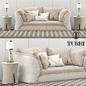 Turri Vogue Sofa Set