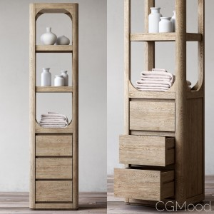 Martens Tall Bath Cabinet
