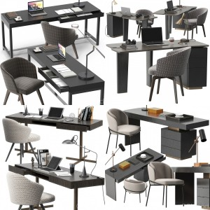 Minotti desk set