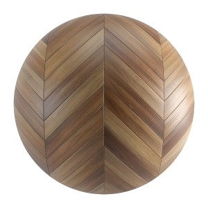 Seamless Brown Wood Chevron Parquet Material V5