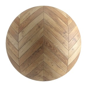 Seamless Light Wood Chevron Parquet Material V4