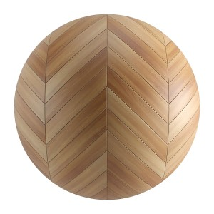 Seamless Light Wood Chevron Parquet Material V6