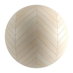 Seamless White Wood Chevron Parquet Material V1