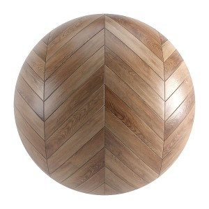 Seamless Brown Wood Chevron Parquet Material V7