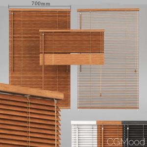 Wooden Blinds Set 01