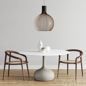 Alias ​​Saen Round Table Set