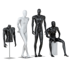 Faceless Male Mannequins 33