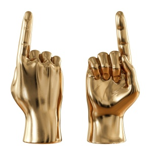 Gold Figurine Hand