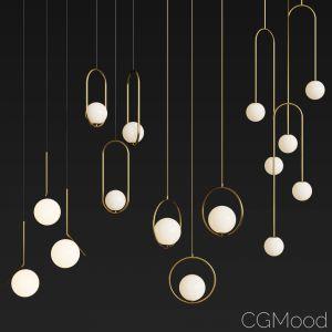 Four Hanging Light Set 04
