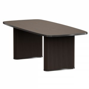Walton Ribbed Leg Dining Table