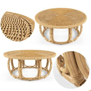 Anguilla Rattan Coffee Table