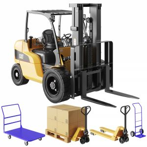 Cat Forklift, Manual Loader And Warehouse Carts Ki