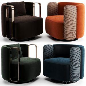 Fendi Casa Kelly Bracelet Armchair