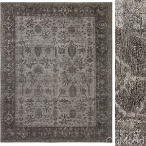 Papillon Hand-knotted Silk Rug
