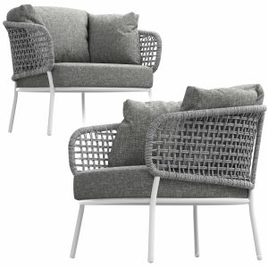 Moon Alu Living Armchair