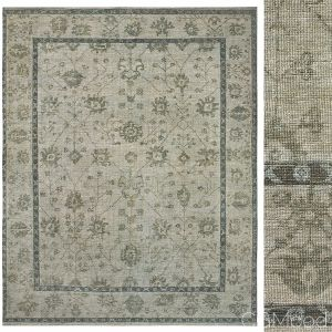 Jardin Hand-knotted Wool Rug