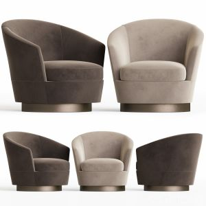 Jacques Low Back Armchair Minotti