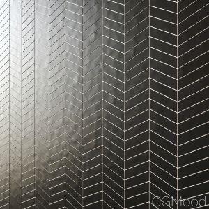 British Ceramic Tile Chevron Matte 4 Types