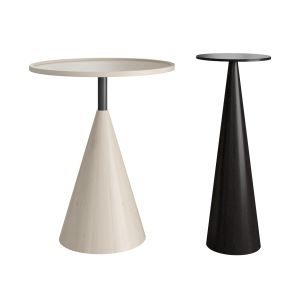 Sawkille - Cone Side Table And Cone Stand