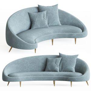 Ether Curved Sofa Jonathanadler