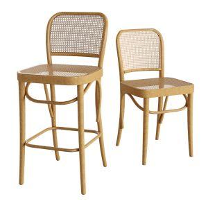 Rattan Barstool Rattan Dining Chair