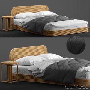 Ria Rattan Bed