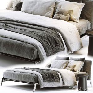 Flexform Lifesteel Bed