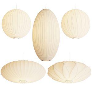 George Nelson Bubble Pendant Lamps