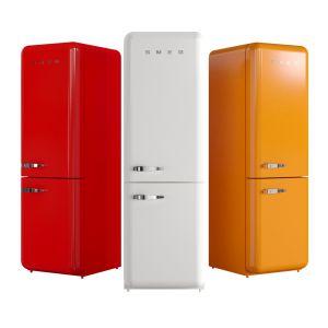 SMEG Fab 32 Two-door Refrigerator Freezer