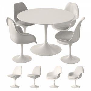 Knoll Tulip Table Set