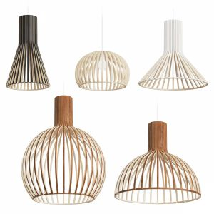 Secto Design Wooden Lamps